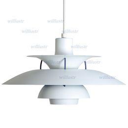 White black green red four colors suspension light pendant lamp modern design aluminum and steel light