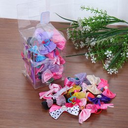 50pcs Pet Dog Grooming Dog Accessories Products Hand-made Small Dog Hair Bows Cat Hair Clips Boutiqu