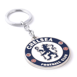 Wholesale 2016 New Chelsea Football Club Football Metal Alloy Key Ring Key Chain Jewelry Best Gifts g
