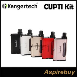 Kangertech CUPTI 75W Kit Kanger All-In-One TC Starter Kit 75W TC Box Mod with 5ml Tank for MTL DL CLRBA Optional Cupti 75W Kit 100%Authentic