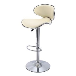 Wholesale 1 PC Bar Stools Leather Modern Hydraulic Swivel Dinning Chair Barstool