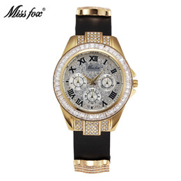 Wholesale New Arrival Fashion Casual Replicas Watches Leather Belt Sqacex Bling Rhinestone Watch PAM Watches Butterfly Buckle