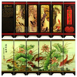 Wholesale New fashion exquisite small wooden home screen Decoration New Year gifts business gifts More than a year after