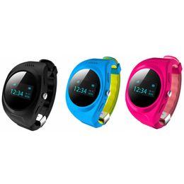 Unisex Modern Wristwatches for Kids GPS Tracker Waterproof GPS Watch Tracker SOS Call and Message Alert Pedometer BIV01