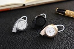 Ear Hook Top quality Stereo Headset Bluetooth Earphone Headphone Mini V4.0 Wireless Bluetooth Handfree for iPhone Samsung LG