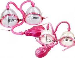 Wholesale Electric Breast Enlarger Breast Enhancer Suction Pump Dual Cup Machine Enlargement Bust Massager Breast Care Equipment