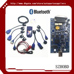 Wholesale ALL chip version NEXIQ USB Link bluetooth Software Diesel Truck Interface and Software with All Installers Support all truck agreement