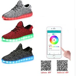 Wholesale 2016 new fashion product bluetooth led shoe manufacture app bluetooth lighting shoe hot sale model remote control lighting shoe with app