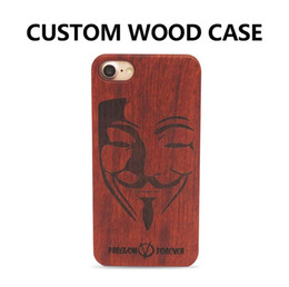 Wholesale Customize Logo DIY High Quality Wood Carving Mobile Phone Case for iPhone 6 6 Plus White Maple Wooden Case