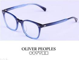 Wholesale Brand Glasses Oliver Peoples Vintage optical frame glasses L A Coen eyeglasses myopia eye glasses Full frame men women OV5297 oculos de grau