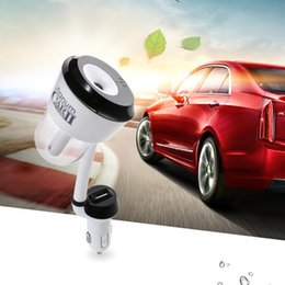Wholesale Mini USB Auto Portable Nanum Car Humidifier Air Purifier DC V Freshener Aroma Essential Oil Diffuser Aromatherapy Mist Maker Fogger