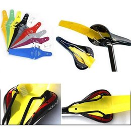 Wholesale Ass Saver Bike Cycling Race Fender MTB Road Commuter Bicycle Saddle Mudguard Ass Rear Fender Removable Parts Factory DHL