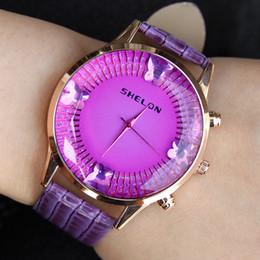 Fashion Women's Rhinestone Glass Watch Big Round Dial Fashion Crystal Butterfly Wrist Watch for Woman Casual Luxury Watch Gift