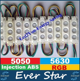 Wholesale Injection ABS Plastic W RGB Led Modules Waterproof IP65 LEDs Led Storefront Light Angle CE ROHS UL SAA