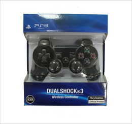 Wholesale Wireless Bluetooth PS3 Game Controller PlayStation Sixaxi Gmae Controllers Joystick for Android Video Games box