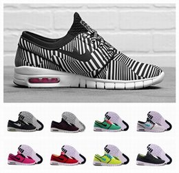 Wholesale 2015 Top Quality SB Stefan Janoski Max Shoes Running Shoes For Men Women Cheap Best Price Athletic Tennis Jogging Sneakers