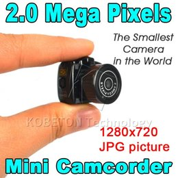 Wholesale Micro Smallest Portable camera HD CMOS Mega Pixel Pocket Video Audio Camera Mini Camcorder P DV DVR Recorder P JPG