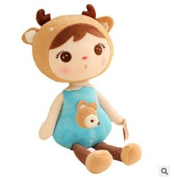 Wholesale Humanoid plush dolls little girl image a variety of color choices