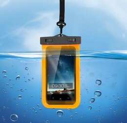 Wholesale Cheapest Iphone 5c Cases - Waterproof Underwater Universal Phone Case Bag Pouch Clear Transparent Swim Diving for iPhone6 6s plus 5 5c 5s for Samsung 100pcs cheap Sale