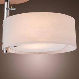 Wholesale White Modern LED Ceiling Light Flush Mount Lights Polish Acrylic Round Bedroom Kitchen Bathroom Ceiling Lamp Novelty Households