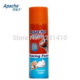 Wholesale NEW classic menthol cologne lemon Apache Aftershave for Men Shaving foam shaving cream g