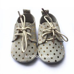 new design soft leather baby oxford shoes suede shoes lace up shoes