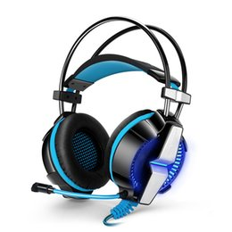 Gaming Headphones EACH G7000 Vibration Function   Breathing LED Light Earphones Game Headset With Microphone Surround 7.1 Sound
