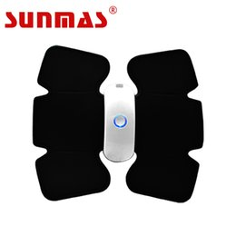 SUNMAS New Arrival SM9183 Wireless Electric Massage TENS UNIT Electrotherapy Back Pain Relief ABS Fit Muscle Stimulator Massager