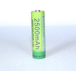 Wholesale 2 ETINESAN mAh NiZn V AA Rechargeable Battery Powerful High Voltage of lcd tv