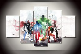 5 Piece HD Printed the comic movie modern art Painting Canvas Print room decor print poster picture canvas Free shipping