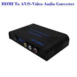 2016 HDMI To Composite RCA & S-video Converter Scaler 720p 1080p with Adapter