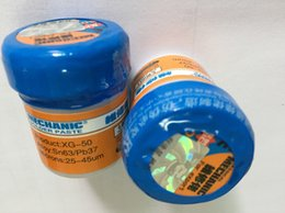 Wholesale 5pcs XG Soldering Solder Paste Flux g Sn63 Pb67 original MECHANIC brand new