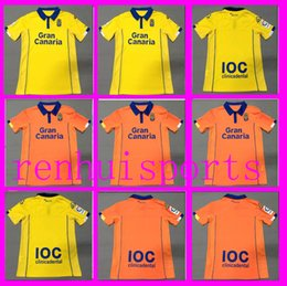 Wholesale Las Palmas jerseys Shirt Wholesalers rugby jersey Home Away Thai quality yellow orange