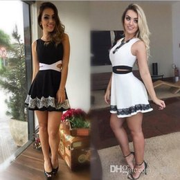 Women's Sexy Sleeveless Club Party Prom Skater Casual Ruched Mini Dress Black New Good Quality Free Shipping
