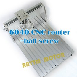 Wholesale UK US AU delivery CNC router Frame milling machine mechanical kit ball screw Aluminum clamp can interchangeable mm