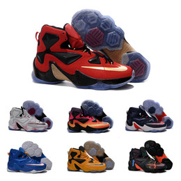 Wholesale Drop Shipping Basketball Shoes Men Retro Lebron Sneakers Boots High Quality Hot Sale LB XIII Sports Shoes Size