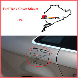 Wholesale Car Stickers Car Fuel Tank Stickers Sport Style Reflective Stickers Auto Supplies For AUDI A4 B8 A4L VOLKSWAGEN VW Car Styling