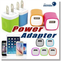 Wholesale For Samsung Galaxy S7 Wall Charger Universal USB AC DC A AMP Travel Home Wall Charger Power Adapter for iPhone Plus S6 S5 and More