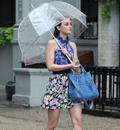 Wholesale New Arrive quot Big Clear Cute Bubble Deep Dome Umbrella Gossip Girl Wind Resistance
