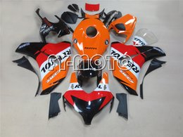 Wholesale Motorcycle Fairings For Honda CBR1000RR Racing bikes Fairing kits Aftermarket Fairings CBR1000 RR Repsol Replica