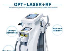 4in1 OPT + E-LIGHT IPL + RF skin care hair removal machine IPL hair removal equipment