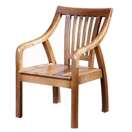 Wholesale Ashtree Solid Wood Chair Leisure Chair Balcony Chair American Country Style