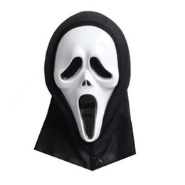 Screams Masks Film Mask Full Face Mask for women men Hot Sale High Quality Horrible Screams Mask