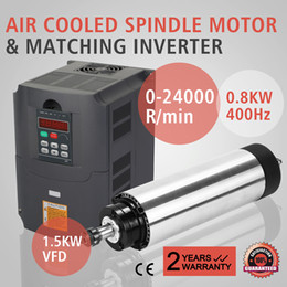 Wholesale Updated KW Air cooling Spindle Motor And Matching Inverter KW AIR COOLED SPINDLE MOTOR KW VFD