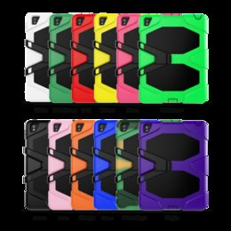 For iPad PRO 9.7inch Tablet Military Extreme Heavy Duty Shockproof CASE With Screen Protector Kickstand Stand Case Cover 12 Colors DHL