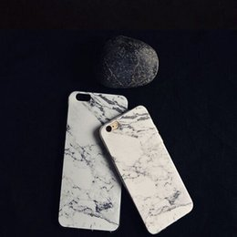 Wholesale Soft Slim Silicone Granite Marble Texture rubber Material Gel Tpu Back Case Cover for iphone PLUS Shockproof Phone Bags