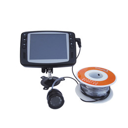Wholesale Aluminium Fish Finder Underwater Video Camera TV Line quot LCD Monitor M Cable Wide Angle m ft Fishing Tackle
