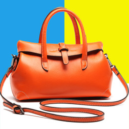free shipping fashion genuine leather lady handbag new designer shoulder bag cowhide leather for women 4colours size of28x12x16cm