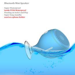 2016 concepteur bluetooth mini haut-parleurs super watterproof, portable 2.1 haut-parleurs bluetooth pour tous les téléphones, titulaires de téléphone cellulaire, haut-parleurs Sucker designer cell phones for sale à partir de téléphones cellulaires concepteur fournisseurs