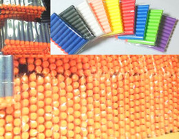 Wholesale 1000pcs Nerf N strike Elite Rampage Retaliator Series Blasters Refill Clip Darts electric air bb toy guns soft nerf bullet